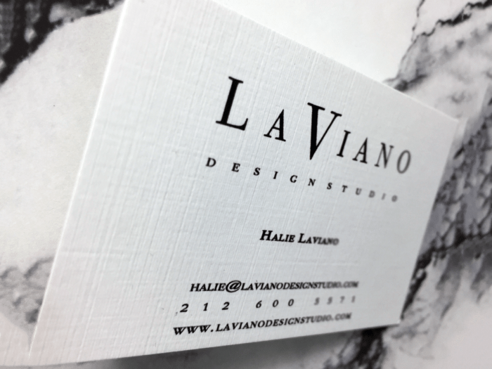 linen 16pt - Linen Business Cards