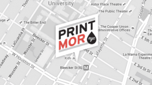 Our Print Shop Location