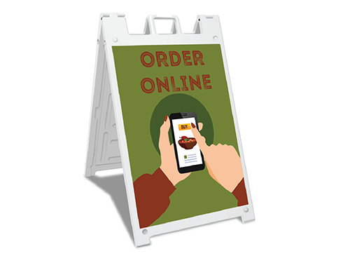 Sign-Order Online Food